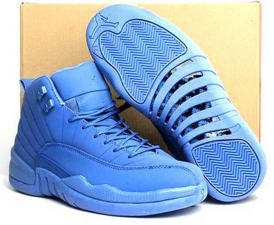 Air Jordan Retro 12 All Blue Denmark